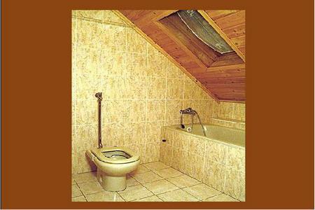 Ubytování Krkonoše - Penzion u lyžařského areálu v Krkonoších - koupelna